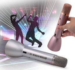 Wholesale Best K088 Karaoke Player Wireless BluetNewest products K088 small professional bluetooth handheld karaoke microphone for Android IOS