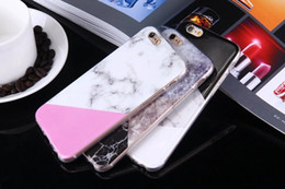 Wholesale Marble Granite Rock Stone Soft TPU IMD Case For Samsung Galaxy S7 Edge G9350 Fashion Silicone Phone Back Cover Skin Geometric Joint