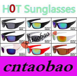 Wholesale Hot selling star same model fashion men and women fuel cell colorful reflective sport uv400 goggle sunglasses