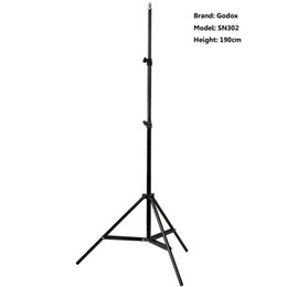 Wholesale Godox cm ft Photography Studio Lighting Photo Light Stand Tripod For Flash Strobe Continuous Light SN302
