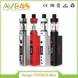 100% Original Kanger Topbox Mini Starter Kit With Kbox Mini 75W TC Mod 3.5ML Toptank Mini Kanger Subox Mini Starter Kit