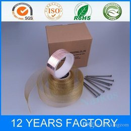 Wholesale Copper Foil Tape Anti Slug and Snail Barrier Tape for Eliminate the effect of EMI and Avoid unnecessary current and voltage