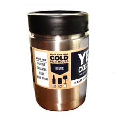 Wholesale 12oz YETI Rambler Colster Vacuum Insulated Tumbler Yeti Mugs Insulated Stainless Steel Car Beer Cup from ohyes