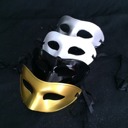 Wholesale Direct festival dance mask painted flat head mask man mask Sir solid mask