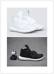 Cheap Wholesale 2016 New Tubular Defiant black white grey Y-3 men women Running shoes High Quality outdoor sneakers free shipping