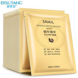 Wholesale Skin Care Facial peel Sheet Whitening Moisturizing Anti aging Prevent Allergy Tender Face Skin Snail Essence Moisturizing Masks
