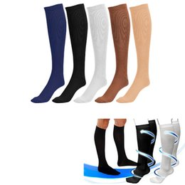 Wholesale 5 Colors S M L XL Miracle Socks Socks Anti Fatigue Compression Stocking Socks Calf Support Relief