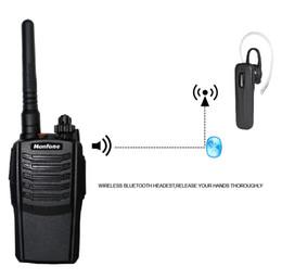 Acheter en ligne Deux radios bidirectionnelles vente-2016 NF-667P Grossiste Amplificateur de radio à jambe large / étroit bande passante pour la vente Bluetooth Walkie Talkie Radio UHF à deux voies bon marché