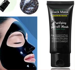 Wholesale Pore Cleaner Shills Deep Cleansing Peel Off Black Mud Shills Face Mask Remove Blackhead Mask Activated Carbon Blackhead Facial Mask ML