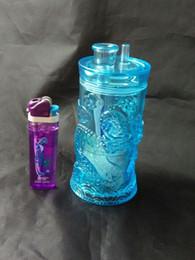 Panlong Acrylic Hookah --glass hookah smoking pipe Glass gongs - oil rigs glass bongs glass hookah smoking pipe - vap- vaporizer