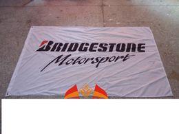Wholesale Bridgestone Motorsport MotoGP IndyCar Motorsport News flag car brand logo banner X150CM size polyster