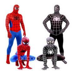 Spider-Man Kids Adult Superhero Lycra Spiderman Hero Zentai Halloween Costume