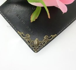Wholesale Photo Album Angle Pressure Angle Corner Protector Protects Bronze Color Metal Bag Edge Angle cm J0011