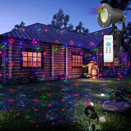 Promotion lumière magique étoile Magic Prime Noël rouge vert bleu Noël Laser Light Star Projecteur IP65 imperméable à l'eau pour la saison décorative Valentine Wedding Party