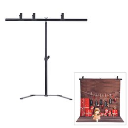 Wholesale Photography Studio Video PVC Backdrop Background Support Stand Kit with cm inch Crossbar Clamps D4358