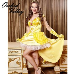 Wholesale Female Women adult Tenue Sexy Nightclubs Cosplay Clothing Dress Animation Halloween Princess Installed Queen Costumes