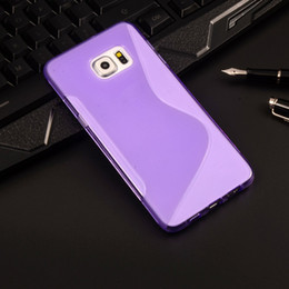 Wholesale For Galaxy S7 S7 edge Note5 S Line Phone Cases TPU Soft Gel Rubber Case Cover for Samsung S5 S6 Note