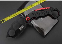 Wholesale Mtech NEW CR15MOV Blade Steel sheet aluminum sheet Folding knife MT A863