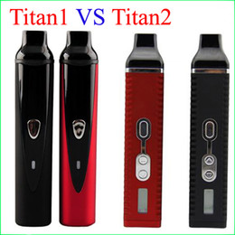 Wholesale Top quality Hebe Titan vaperizer Dry herb Vaporizers e ciga herbal Vaporizer vapor Titan2 Vape pens kit with mah battery