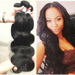 Mink brésilienne Virgin Hair Weave 3 Bundles Mme Lula 7A Grade des cheveux Virgin Virgin Non Transformé Cheveux Extentions brésilienne cheveux de vague de corps cheap 7a grade virgin brazilian hair bundles à partir de grade 7a vierges faisceaux de cheveux bresilien fournisseurs