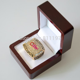 New Arrival 2015 Hot Sale Replica 18K Gold 1998 Detroit Red Wings National Hockey League Stanley Cup Championship Rings