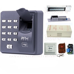 Wholesale Digital Electric RFID Reader Finger Scanner ZKT X6 Code System Biometric Fingerprint Access Control for Door Lock Home Security System