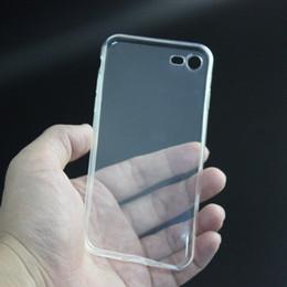 """Cas transparents pour iphone 4s à vendre-Clear TPU Transparent Housse en Silicone Housse en Silicone pour 4,7 """"5,5"""" iPhone 4 4S 5 5S 5C 6 6+ i7 Plus Samsung S7 S6 Edge Livraison gratuite"""