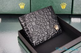 Wholesale R L X High Quality R Artistical Emboss Logo Cover Leather Fashion RX Dollar Wallet Hot Sale Package Box Pouch