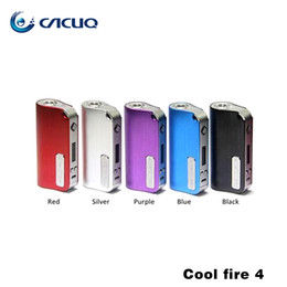Wholesale Authentic Innokin CoolFire IV W Battery Mod Innokin Cool Fire IV Express Kit mAh Innokin Coolfire Box Mod Vape Mods
