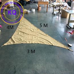 Wholesale Waterproof Sun Shade Sail x4x5 M Awnings Polyester fabrics UV PU Coated ropes AWNING CANOPY