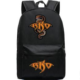 Sac à dos Randy Orton Sac à dos de serpent Viper Sac à dos de sport professionnel de lutte Sac à dos de bonne Sac de jour noir à partir de sacs de jour noir fournisseurs