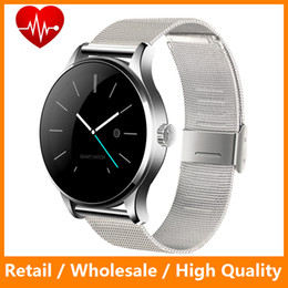 Wholesale Original Smart Watch Track Wristwatch MTK2502 Bluetooth K88H Smartwatch Heart Rate Monitor Pedometer Dialing For Android IOS