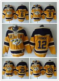 Wholesale Nashville Predators Hockey Men Jerseys Shea Weber filip forsberg mike fisher rinne Hockey Hoodie Hooded Sweatshirt Jackets Jersey