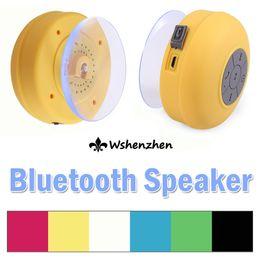 Wholesale Waterproof Bluetooth Speaker Mini Portable Wireless Music Sound Bar Hands Free Water Resistant Bathroom Shower MP3 Player