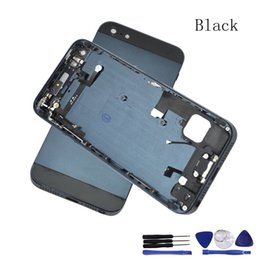 Wholesale DHL High Quality New Complete Full Set Back Housing Battery Door Cover Middle Frame Assembly For iPhone G
