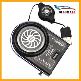 Wholesale Mini Vacuum Strong Cool Air Extract USB Notebook Laptop Cooling Cooler Fan Pad