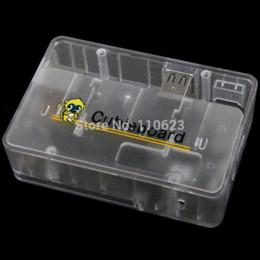 Ot sale Boîtier pour la carte de développement Cubieboard Acrylic Box, CubieboardA20 cas Autres composants électroniques bon marché autres C ... à partir de cas de développement fournisseurs
