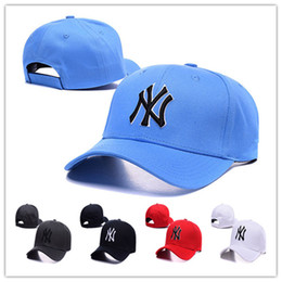 Wholesale Cheap classic retro new york baseball cap adjustable hat Yankees team baseball curved brim hat baseball fans Hats