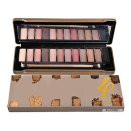 2016 Newest 12 Colors Eyeshadow Palette Hot Makeup Tool Eyeshadow Palette with Brush 2016 Comestic Palette Eyeshadow