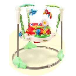 Wholesale baby rocker Jumper and Bouncers for baby jumper bouncer swing rattle toysJumperoo Baby Jump Learn Stationary Jumper Baby Bouncing Swing