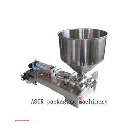 Wholesale Filling machine Single nozzle head Paste large hopper Rotary Valve range ml quantitative filling and packaging equipment