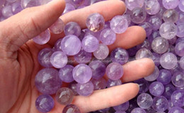 Wholesale 3pcs Natural dream purple Amethyst Quartz Crystal Sphere Ball China healing Gem Stone mm mm