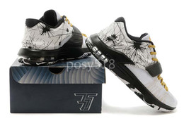 Promotion kds blanc 2015 Hot KD 7 VII Blanc / Noir / Or Sneakers Cheap Mens KD7 KD Kevin Durant Chaussures de basket à vendre