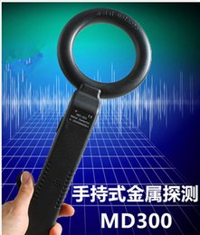 Wholesale MD HandHeld Portable Security Metal Detector Scanner HighSensitivity detecting Instrument Metal Scanner Kit Security Product