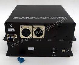 Wholesale Remote for Broadcast Studio CCTV audio and Professional AV applications etc CH BIDI Balance Audio XLR To Fiber Optic
