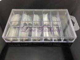 [JZJ-009] 100Pcs / Set Form Dual System Nail (package avec la boîte) pour acrylique UV Nail Art Tip + Livraison gratuite à partir de ensemble acrylique double forme fournisseurs