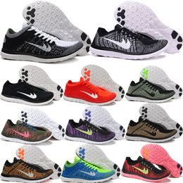 Wholesale 2016 Summer navy Blue sneakers red Black Orange Purple Pink Mixed Colors Run Print Running Shoes for Men and Women