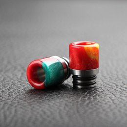 510 wide bore resin drip tip high quality material wholesale colorful drip tip for Ego Atomizer Ego Battery
