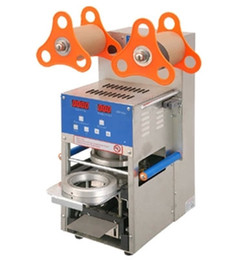 Wholesale new model LED AC220V fully automatic Cup Sealing Machine for food and drink package automatic cup sealer bubble tea cup sealer