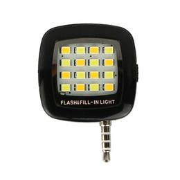 Wholesale Portable Mini LED Dimmable Light Cellphone Camera Flash Fill in Light Pocket Spotlight Photo Video Light Lamp Speedlite For Smartphone